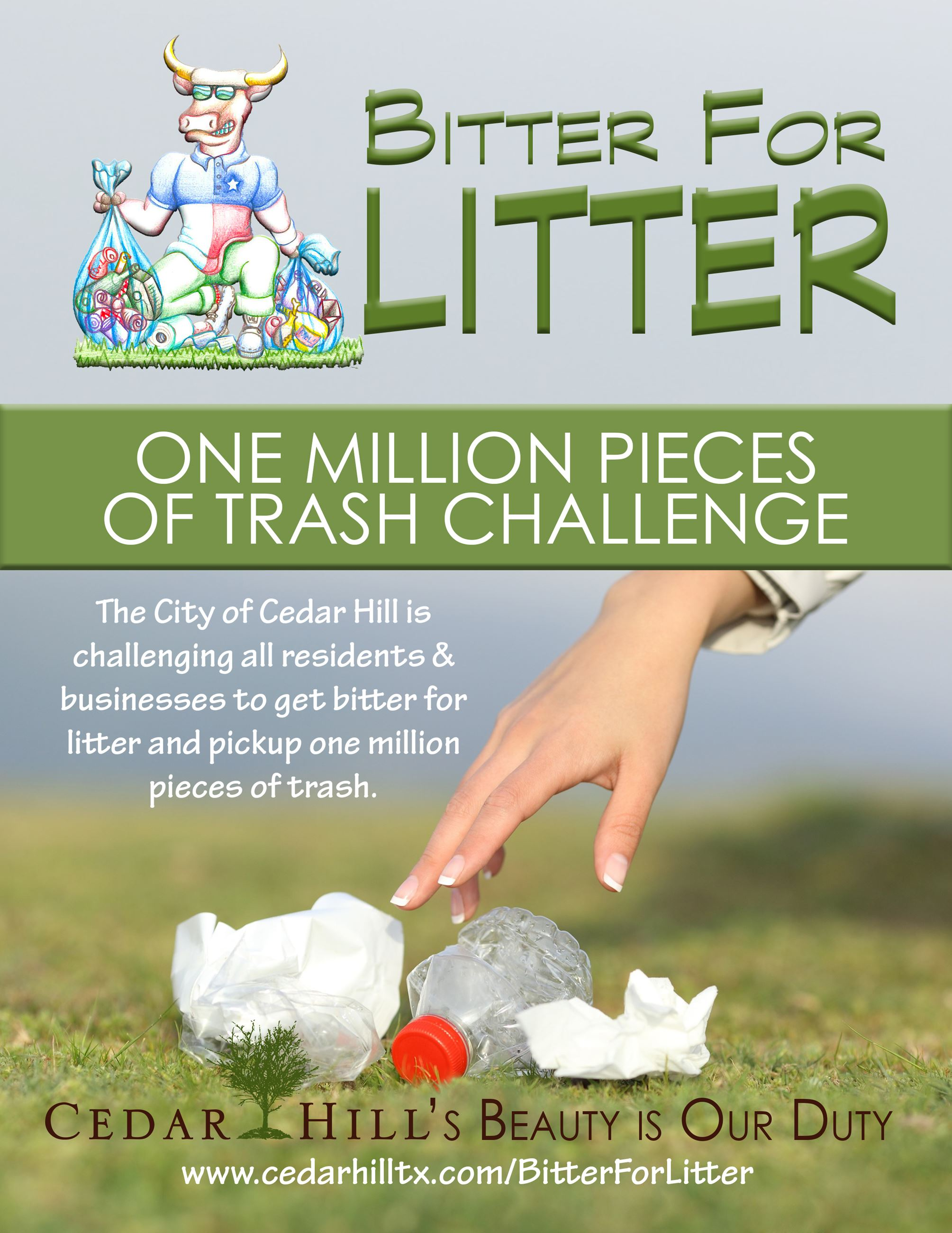 Bitter for Litter BLUE