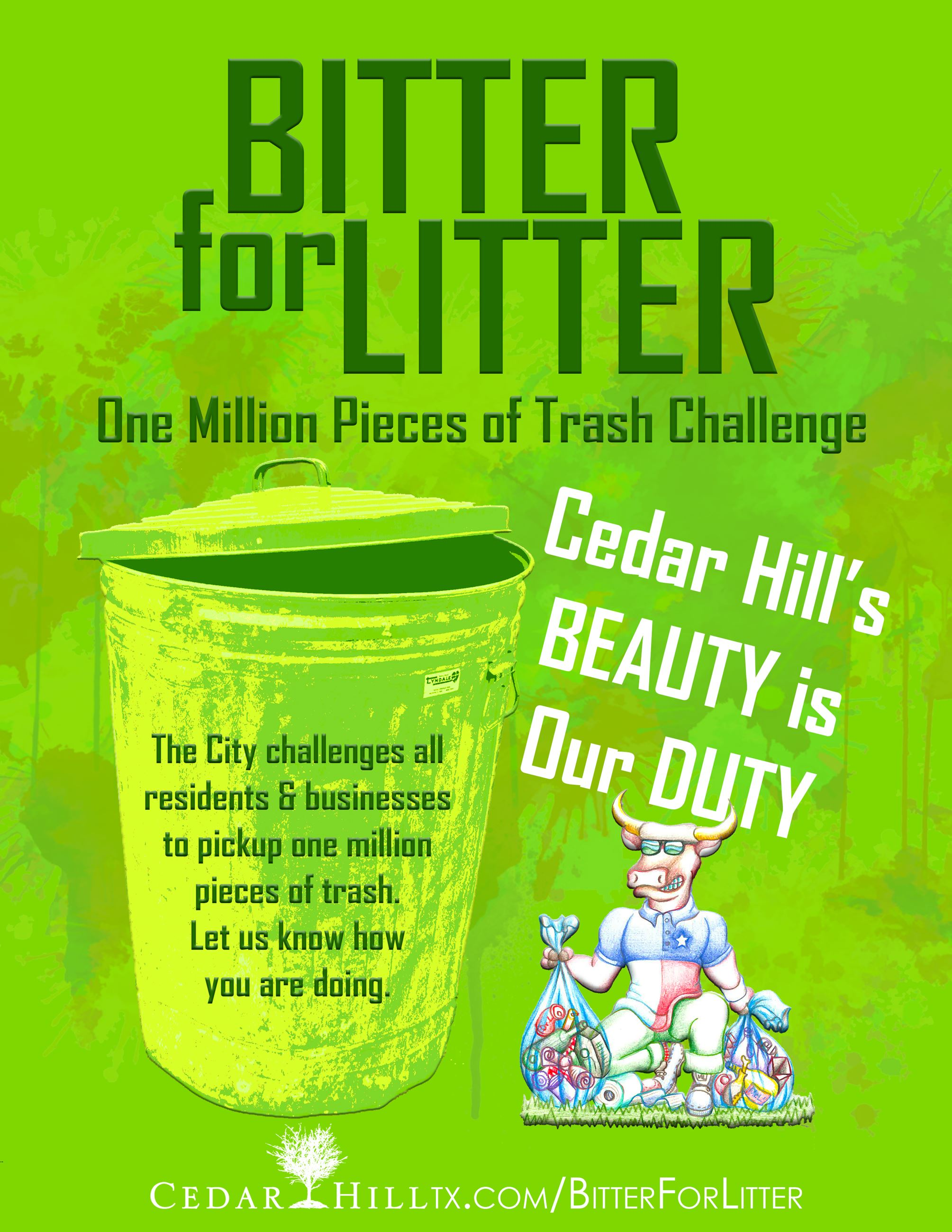 Bitter for Litter GREEN