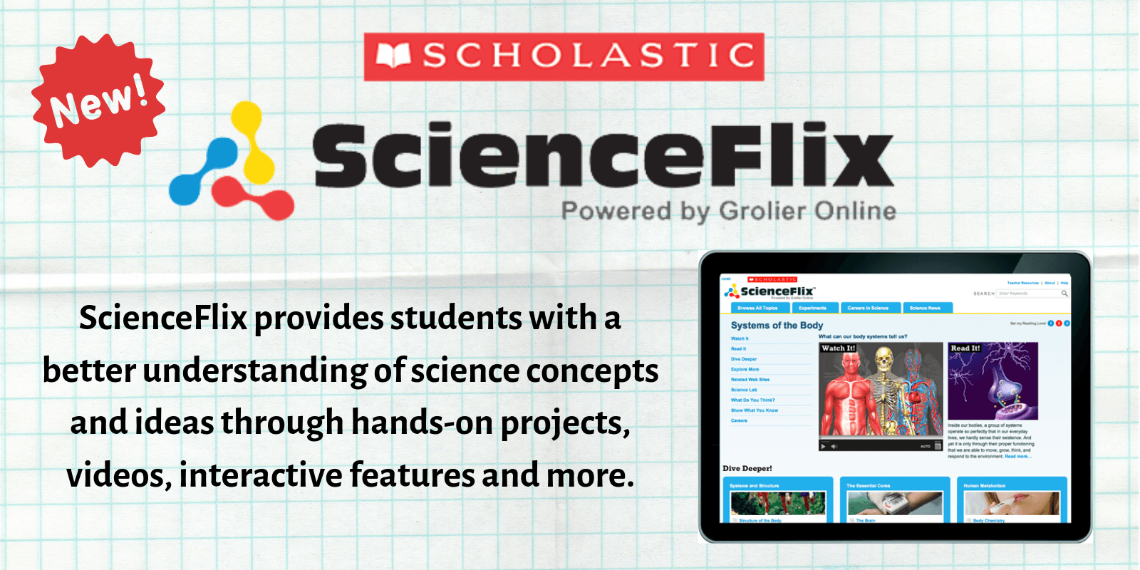 scienceflix Opens in new window