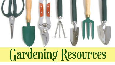 Gardening Resources Opens in new window