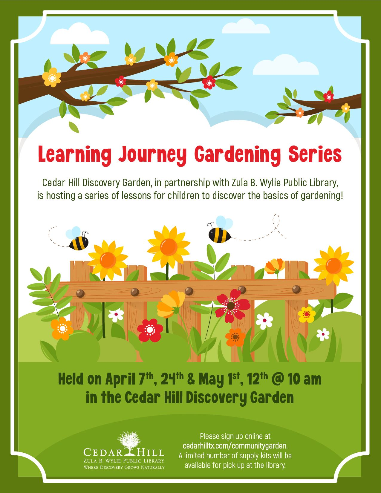 2021 Learning Journey Gardening Series